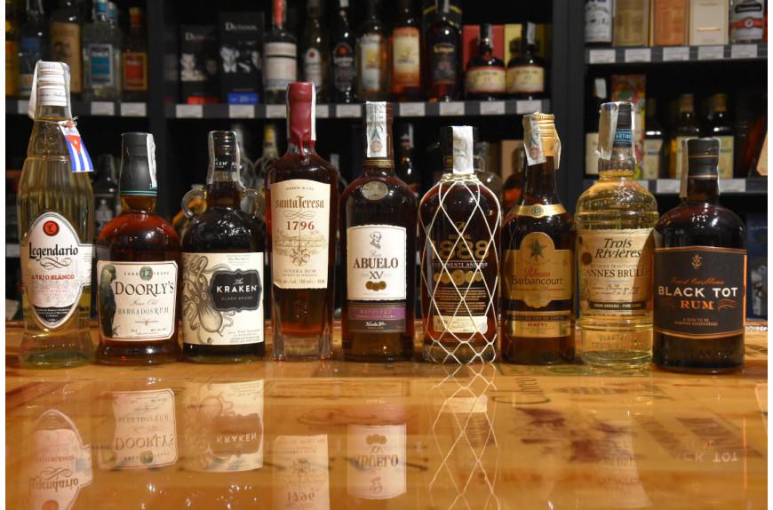 Rum, Rhum, Ron at Alessi!