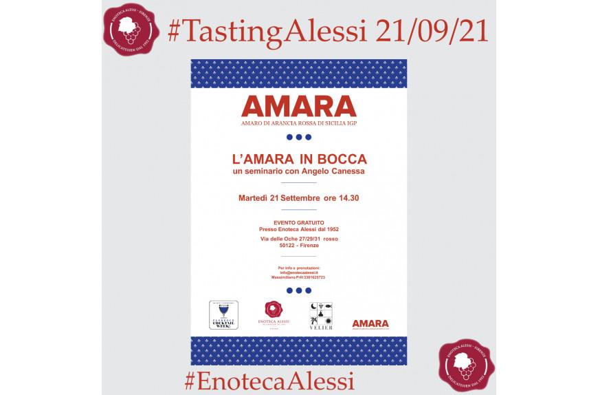 """TastingAlessi free event: """"L'Amara in bocca"""""""