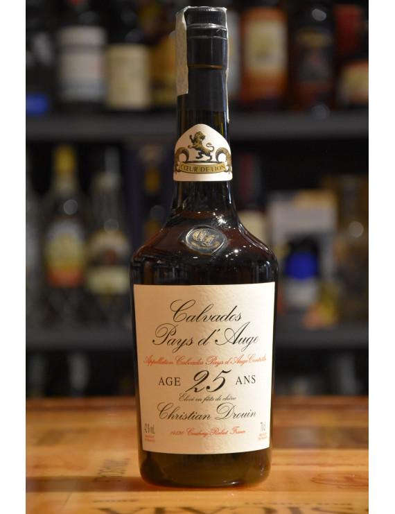CHRISTIAN DROUIN CALVADOS 25 ANS D´ AGE CL.70