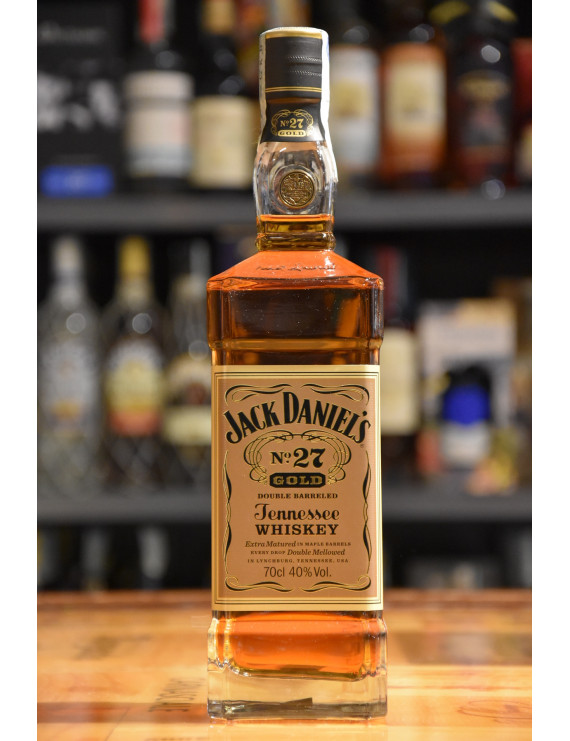 JACK DANIEL´S N° 27 GOLD DOUBLE BARREL CL.70