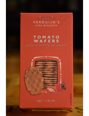 VERDUIJN´S CHEESE BISCUITS WITH TOMATO BASIL 75g
