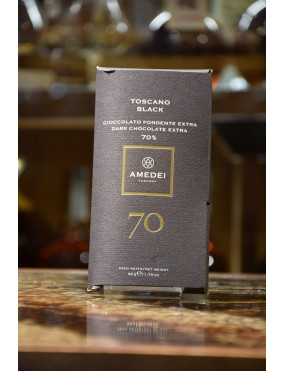 AMEDEI TAV.TOSCANO BLACK FONDENTE EXTRA 70% 50g
