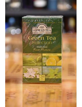 AHMAD TEA GREEN TEA SELECTION 20 TEA BAGS