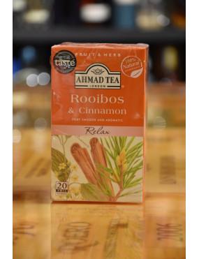 AHMAD REFRESH ROOIBOS & CINNAMON 20 BUSTE