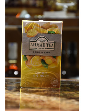 AHMAD REVITALISE LEMON & GINGER 20 BUSTE