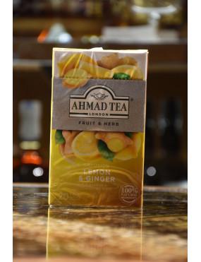 AHMAD TEA REVITALISE LEMON & GINGER 20 BUSTE