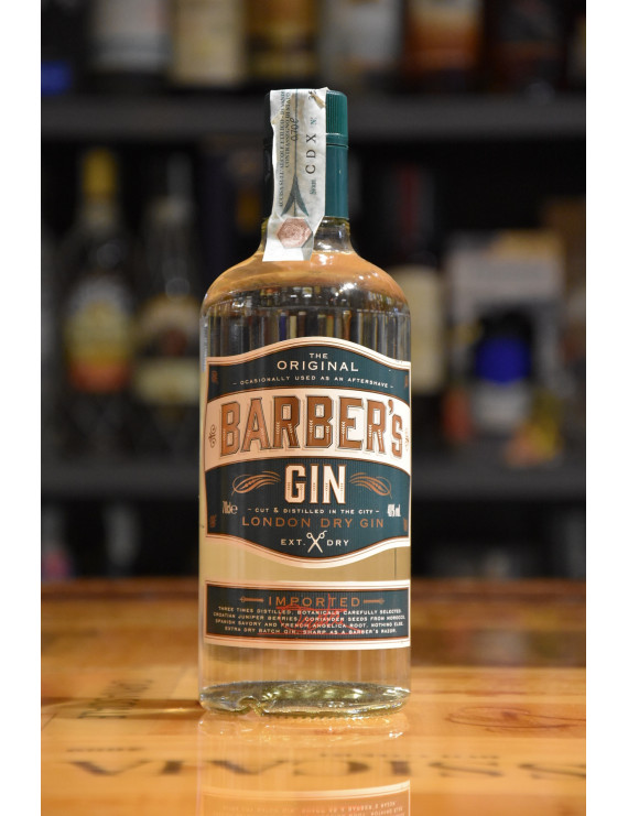 BARBER´S LONDON DRY GIN CL.70