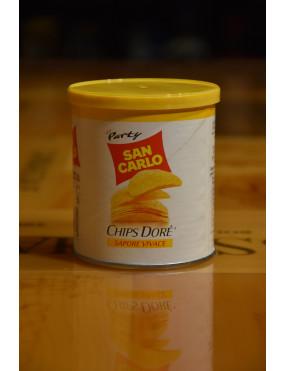 SAN CARLO PATATINE CHIPS DORE´ BARATTOLO 45g