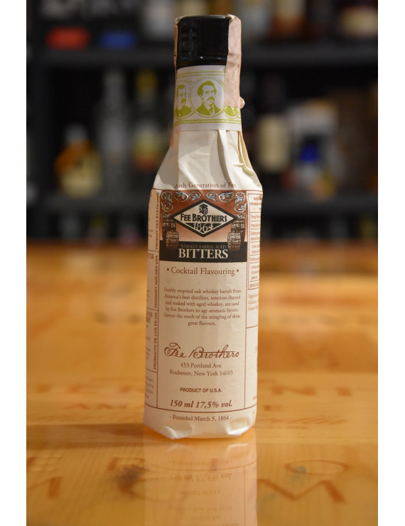 FEE BROTHERS 1864 WHISKEY BARREL AGED BITTERS 150m