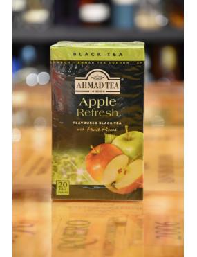 AHMAD TEA BLACK TEA APPLE REFRESH 20 TEA BAGS