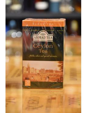 AHMAD TEA BLACK TEA CEYLON 20 TEA BAGS