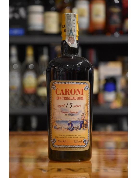 CARONI 15 Y EXTRA STRONG 104° PROOF RUM CL.70