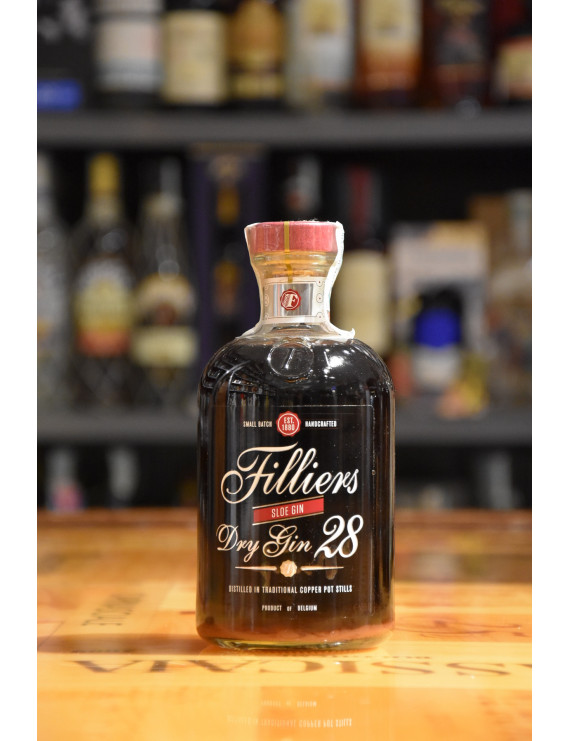 FILLIERS DRY GIN 28 SLOE CL.50