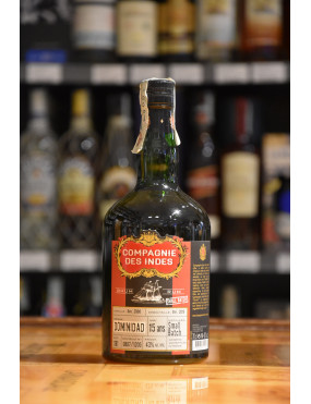 COMPAGNIE DES INDES RUM SINGLE CASK DOMINIDAD CL70