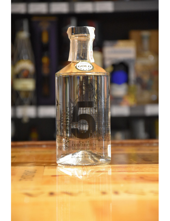 5 CONTINENTS HAMBURG DRY GIN CL.70