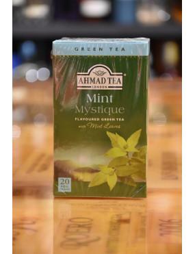AHMAD TEA GREEN TEA MINT MISTIQUE 20 TEA BAGS
