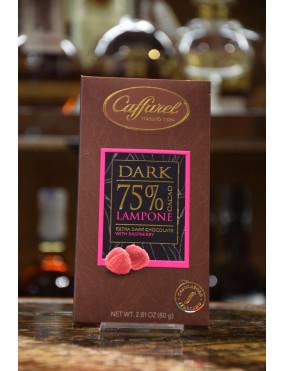 CAFFAREL TAV.DARK FONDENTE 75% LAMPONE 80g