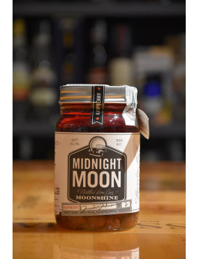 MIDNIGHT MOON MOONSHINE RASPBERRY 350ml