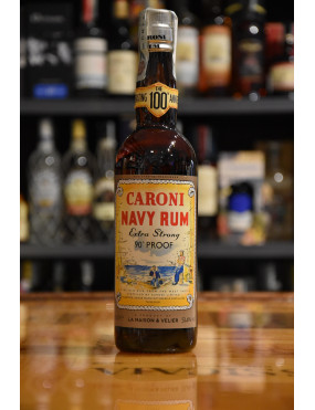 CARONI NAVY RUM EXTRA STRONG 90° PROOF CL.70