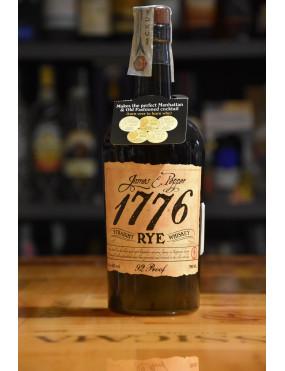 JAMES & PEPPER 1776 BOURBON RYE 92 PROOF CL.70