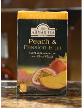 AHMAD TEA PEACH & PASSION FRUIT 20 TEA BAGS