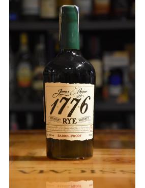 JAMES & PEPPER 1776 BOURBON RYE BARREL PROOF CL.70