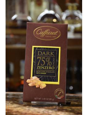 CAFFAREL TAV.DARK FONDENTE 75% ZENZERO 80g