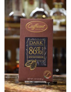 CAFFAREL TAV.DARK FONDENTE 86% 80g