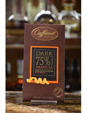 CAFFAREL TAV.DARK FONDENTE 75% ARANCIA 80g