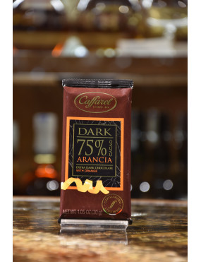 CAFFAREL TAV.DARK FONDENTE 75% ARANCIA 30g