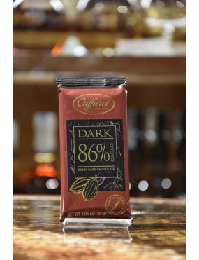 CAFFAREL TAV.DARK FONDENTE 86% 30g