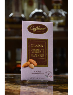 CAFFAREL TAV.CLASSIC FONDENTE MANDORLE 80g