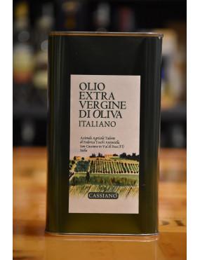 CASSIANO OLIO EXTRA VERGINE 2019 LATTA CL.100