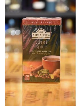 AHMAD TEA BLACK TEA CHAI SPICE 20 TEA BAGS
