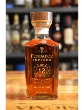 FUNDADOR BRANDY SUPREMO 12 Y CL.70