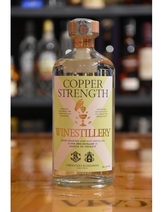 WINESTILLERY GIN LONDON DRY COPPER STRENGTH CL.70