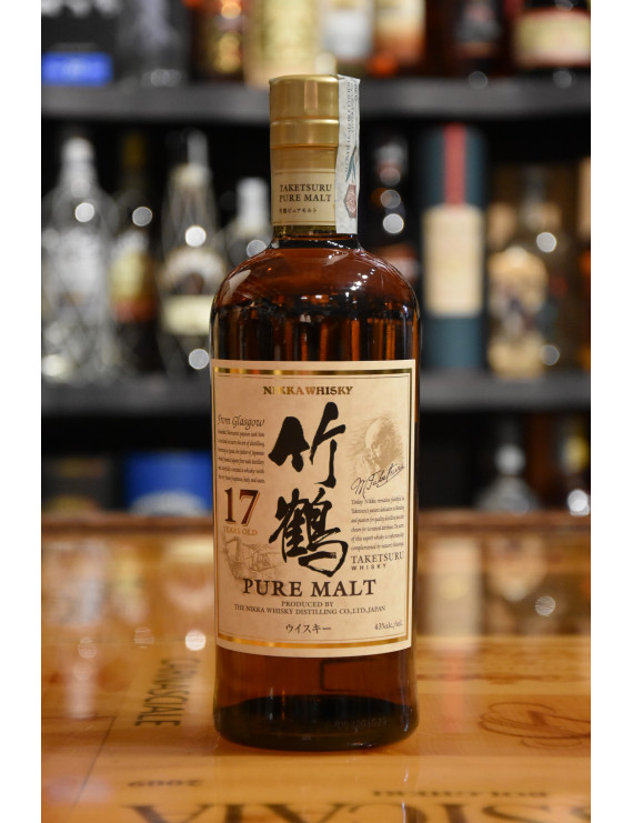 NIKKA WHISKY TAKETSURU PURE MALT 17 Y CL.70