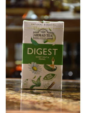AHMAD DIGEST SWEET MINT & FENNEL 20 BUSTE