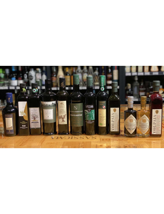 Box Extra Virgin Olive Oil and Balsamic Vinegar Best Selection 2021